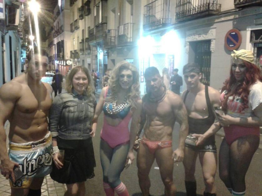 Take me to a gay-bar