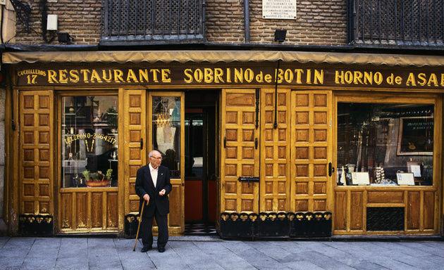 Мадрид: старейший ресторан мира Sobrino deBotín